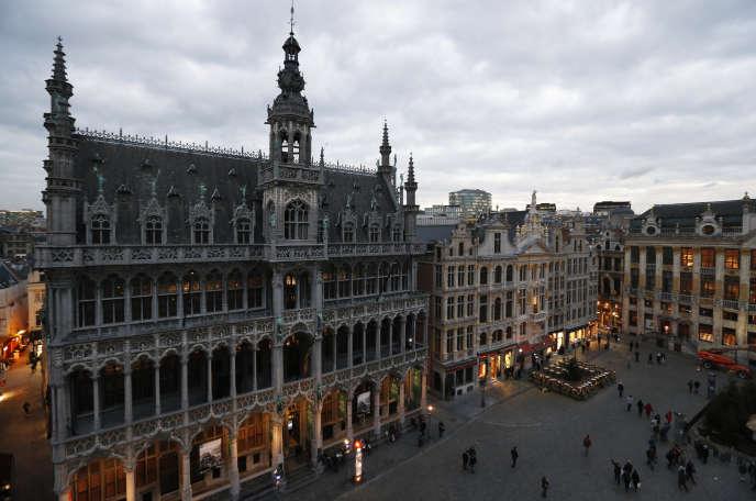 La Grand-Place de Bruxelles.