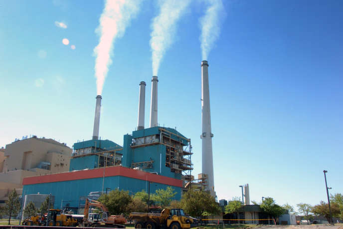 Centrale thermique au charbon, aux Etats-Unis.