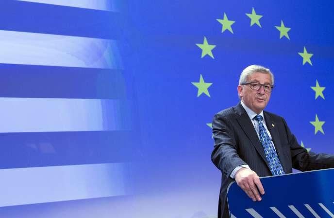 Jean-Claude Juncker à Bruxelles le 29 juin.