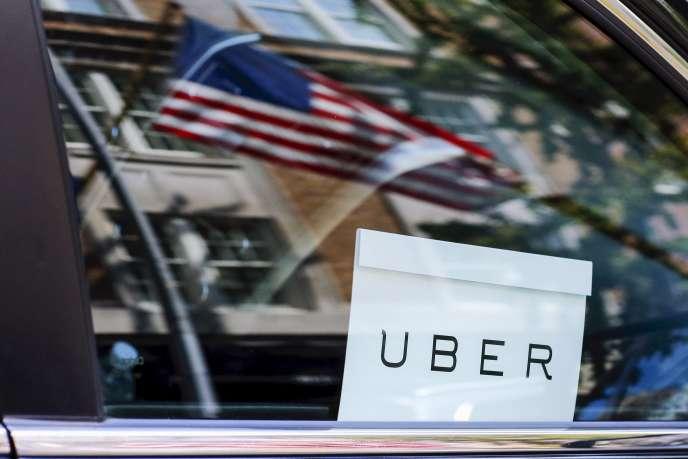 Un Uber dans les rues de New York, en juin 2015.