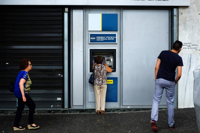 L'annonce faite le 27 juin par le premier ministre grec de recourir à un référendum a provoqué la rupture des négociations avec l'Eurogroupe