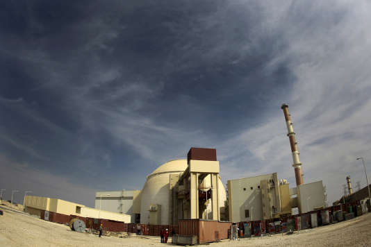 La centrale nucléaire de Bouchehr, en Iran, en 2010.
