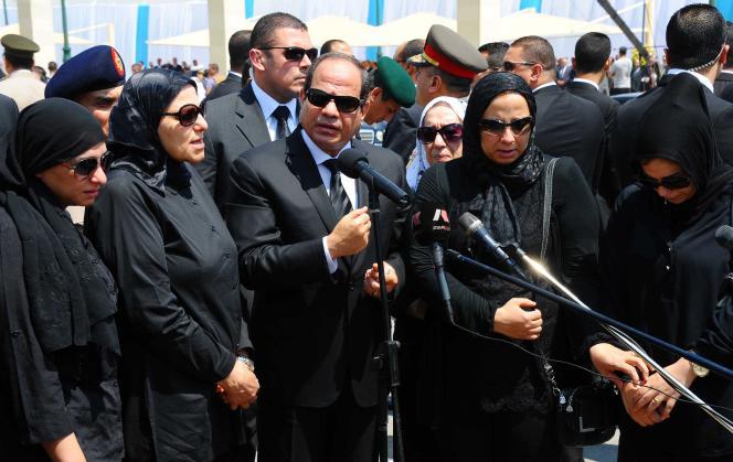 Mardi, le président Abdel Fattah Al-Sissi a promis une législation plus dure pour « lutter contre le terrorisme », un terme qui, en Egypte, désigne notamment les Frères musulmans.