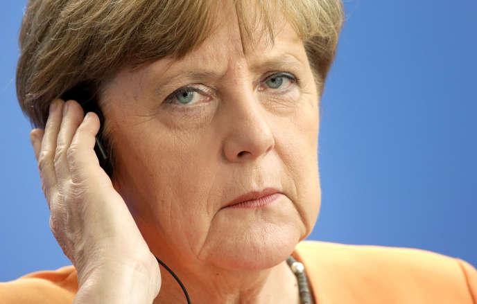 Angela Merkel, le 1er juillet 2015.