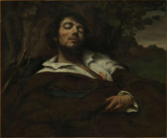 """""""L'Homme blessé"""" de Gustave Courbet."""