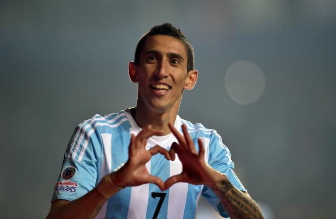L'Argentin Angel Di Maria, qui jouera samedi la finale de la Copa America contre le Chili, est la cible prioritaire du mercato pour le PSG
