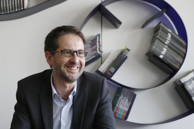 Jérôme Fenoglio, le directeur du «Monde», le 1er juillet 2015.