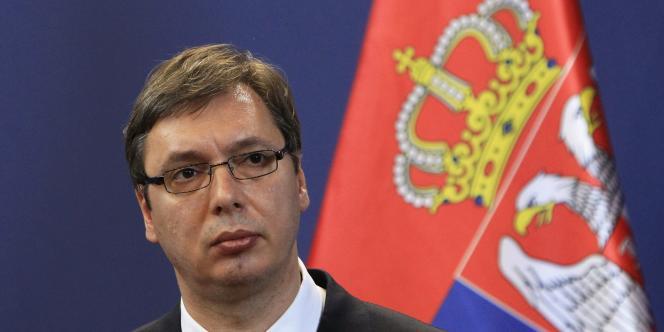 Le premier ministre serbe Aleksandar Vucic, le 1er juillet à Budapest.