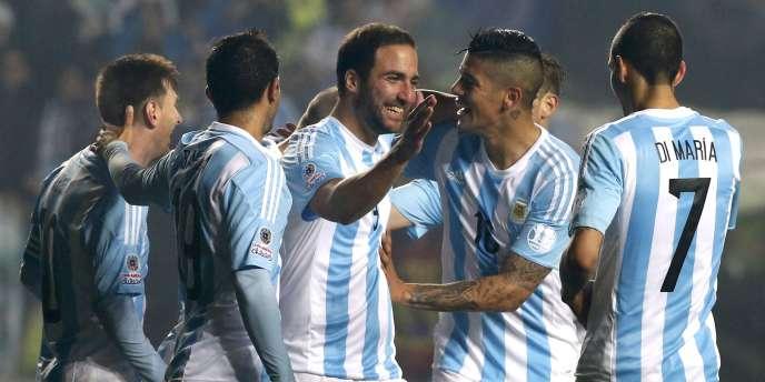 Fait rare, Messi n'a marqué aucun des six buts de l'Argentine en demi-finale de la Copa America face au Paraguay, le 30 juin à Santiago.