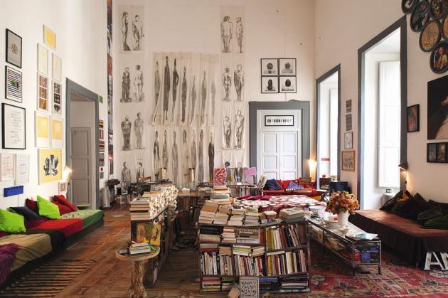 Installé dans un immense appartement du Palazzo Spinelli, Le Purgatoire II est une maison d'hôtes pas comme les autres.