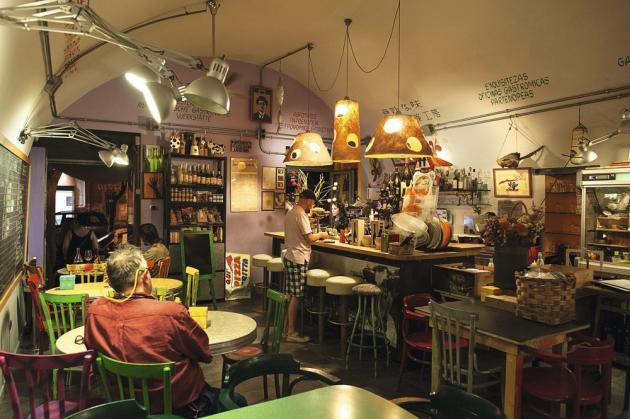 Le restaurant La Stanza del Gusto est l'une des meilleures adresses du centre historique.