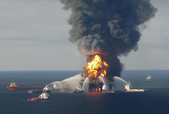 Le 20 avril 2010, la plateforme Deepwater Horizon avait explosé dans le golfe du Mexique, provoquant une marée noire sur le littoral américain.