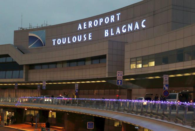 L'aéroport de Toulouse-Blagnac en décembre 2014.