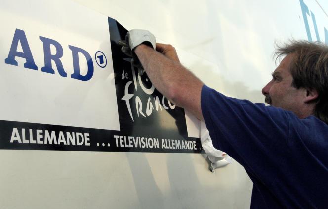 En 2012, la télévision allemande ARD avait cessé de diffuser le Tour de France.