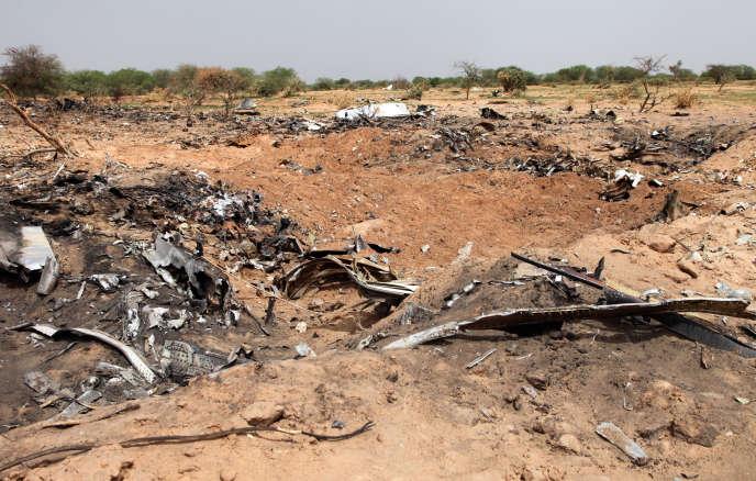 L'accident de l'avion d'Air Algérie a fait 116morts le 24juillet2014 au Mali.