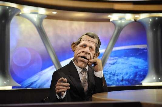 «PDD», le présentateur satirique des «Guignols de l'info», en février 2009.