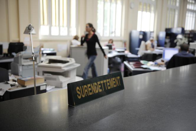 Dans des locaux de la Banque de France, à Saint-Denis (Seine-Saint-Denis).
