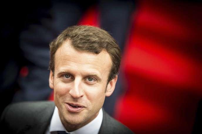 Emmanuel Macron le 2 juillet à Toulouse.