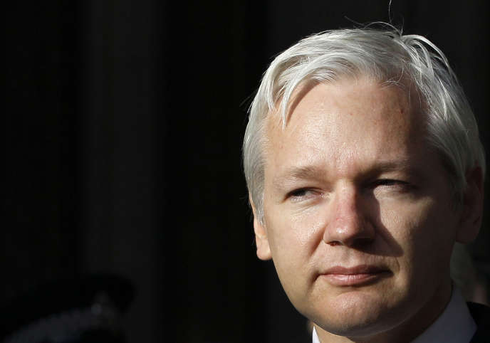 Julian Assange, le confondateur de WikiLeaks, vit declus dans l'ambassade d'Equateur à Londres depuis 2012.