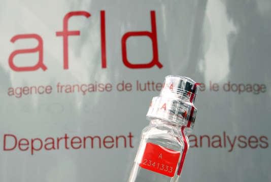 Le laboratoire de l'Agence française de lutte contre le dopage à Châtenay-Malabry.