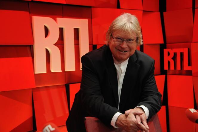 André Torrant animateur de RTL depuis 40 ans.