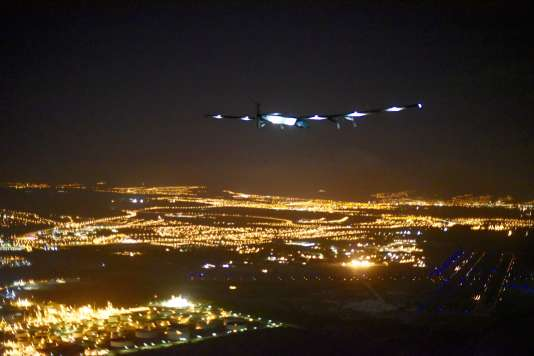 « Solar Impulse » a atterri à Honolulu le 3 juillet.
