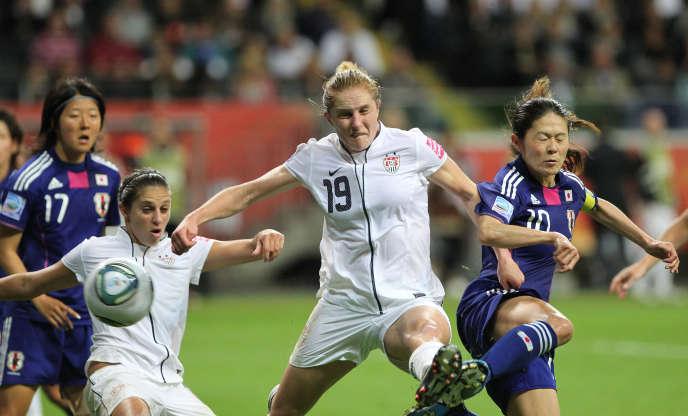 Les Japonaises avaient battu les Etats-Unis en finale du Mondial 2011.