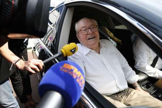 Jean-Marie Le Pen, fondateur du Front national, en juillet 2015.