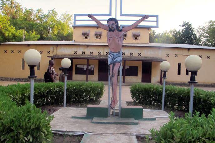 Une église catholique à Maroua, au nord Cameroun.
