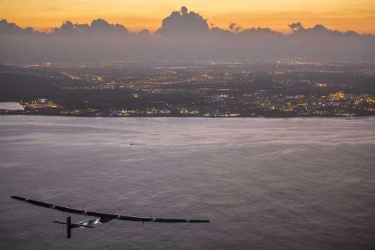 L'avion a subi d'importants dommages durant la traversée du Pacifique de cinq jours, qui s'est terminée le 3juillet.