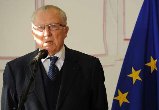 Jacques Delorsstigmatise la focalisation actuelle sur « les gains économiques à court terme » (Photo: Jacques Delors en 2012).