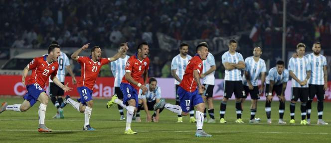 Le Chili a battu l'Argentine en finale de la Copa America, samedi 4 juillet.