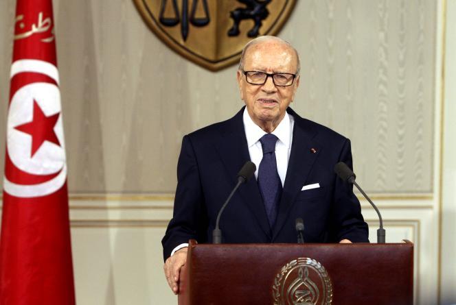 Béji Caïd Essebsi, le 4juillet.