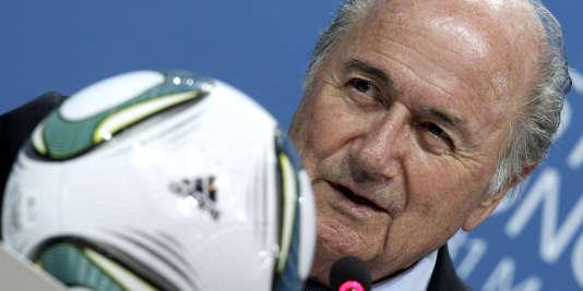 Le président de la FIFA Sepp Blatter, le 5 juillet à Zurich.