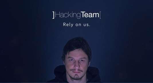 Le vendeur de logiciels de surveillance Hacking Team.