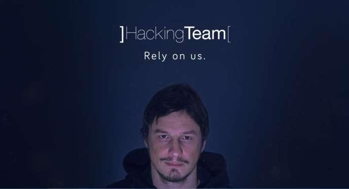 Capture d'écran promotionnelle de Galileo réalisée sur le site de Hacking Team.