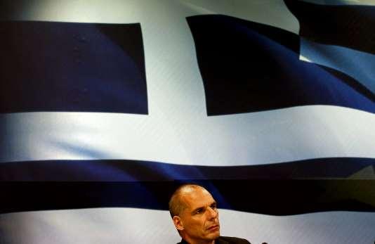 Yanis Varoufakis, le 6 juillet à Athènes.  REUTERS/Yannis Behrakis