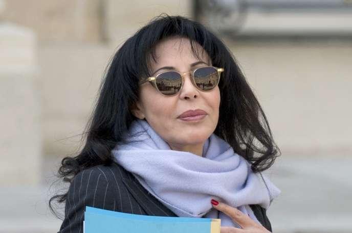 Yamina Benguigui, le 26 mars 2014, à l'Elysée.