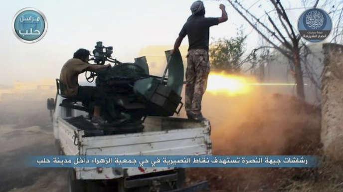 Des combattant du Front Al-Nosra, en juillet 2015.
