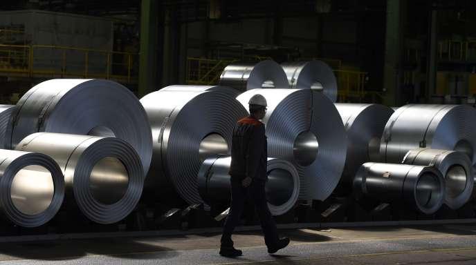 Entre 2010 et 2014, l'industrie allemande a connu une croissance de  8 %.