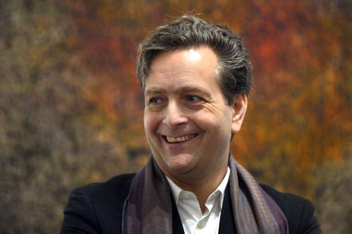 Eric de Chassey le 11 février 2014 à la Villa Médicis à Rome, Italie.