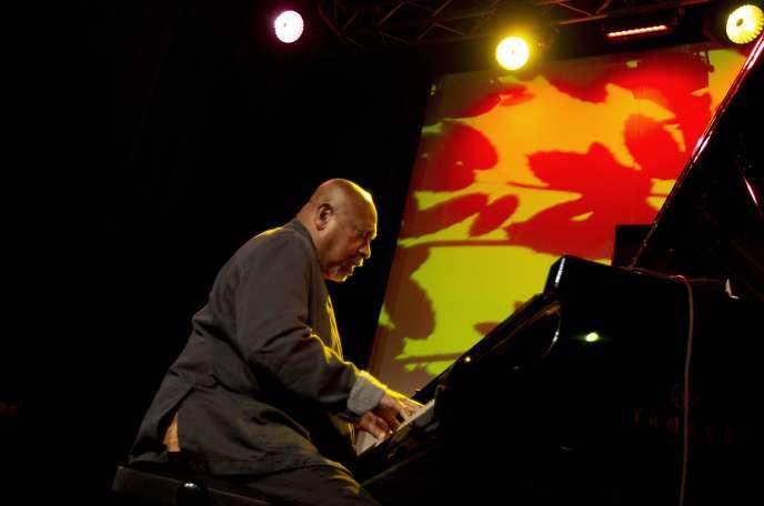 Kenny Barron en concert au North Sea Jazz Festival à Rotterdam, le 13 juillet 2013.