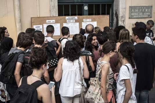 Les résultats seront publiés sur LeMonde.fr mardi 5 juillet