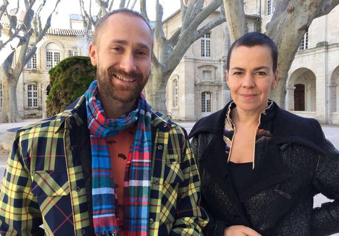Ene-Liis Semper et Tiit Ojasoo, cofondateurs de la troupe N099.