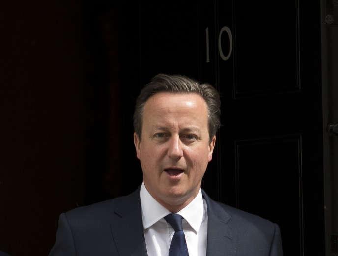 Le premier ministre britannique, David Cameron, le 8juillet à Londres.
