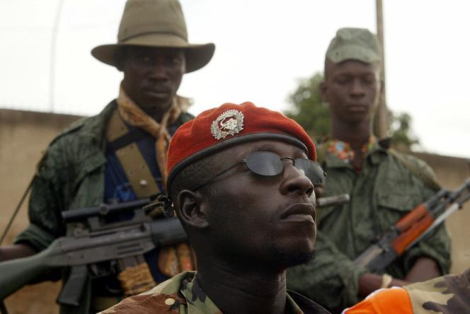 Chérif Ousmane à Bouaké (ouest), en 2002.