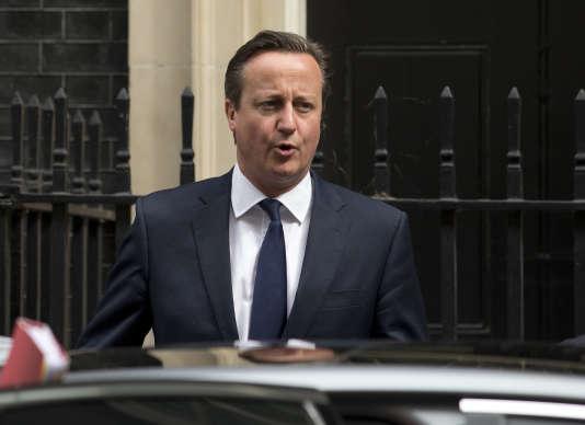 Le premier ministre britannique, David Cameron, le 8 juillet 2015.