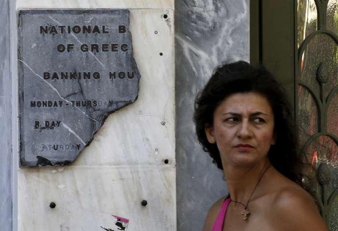 Pour recapitaliser les banques grecques, 10 à 25 milliards d'euros pourraient être versés par le Mécanisme européen de stabilité (MES).