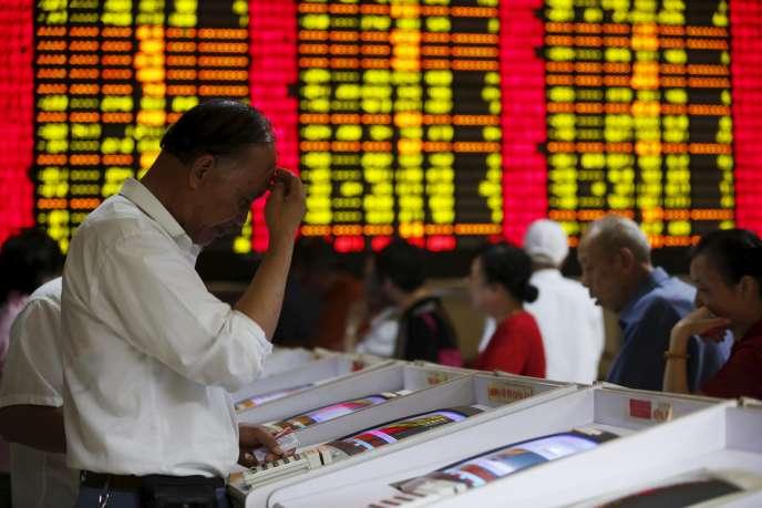 Les marchés chinois se caractérisent par la forte présence de petits porteurs.