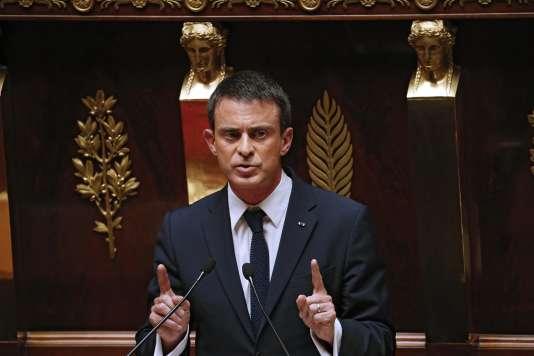 Manuel Valls à l'Assemblée nationale, le 8 juillet.